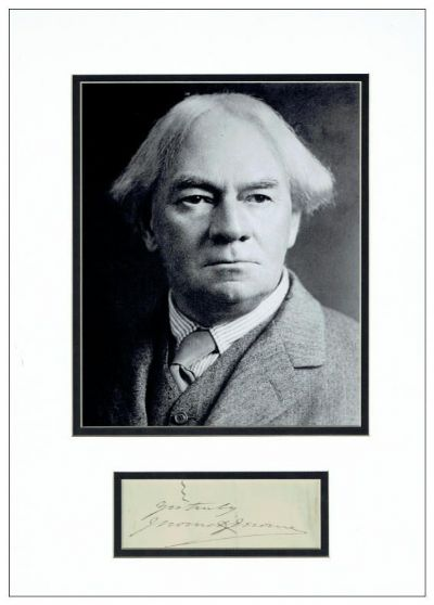 Jerome K Jerome Autograph Signed For Sale